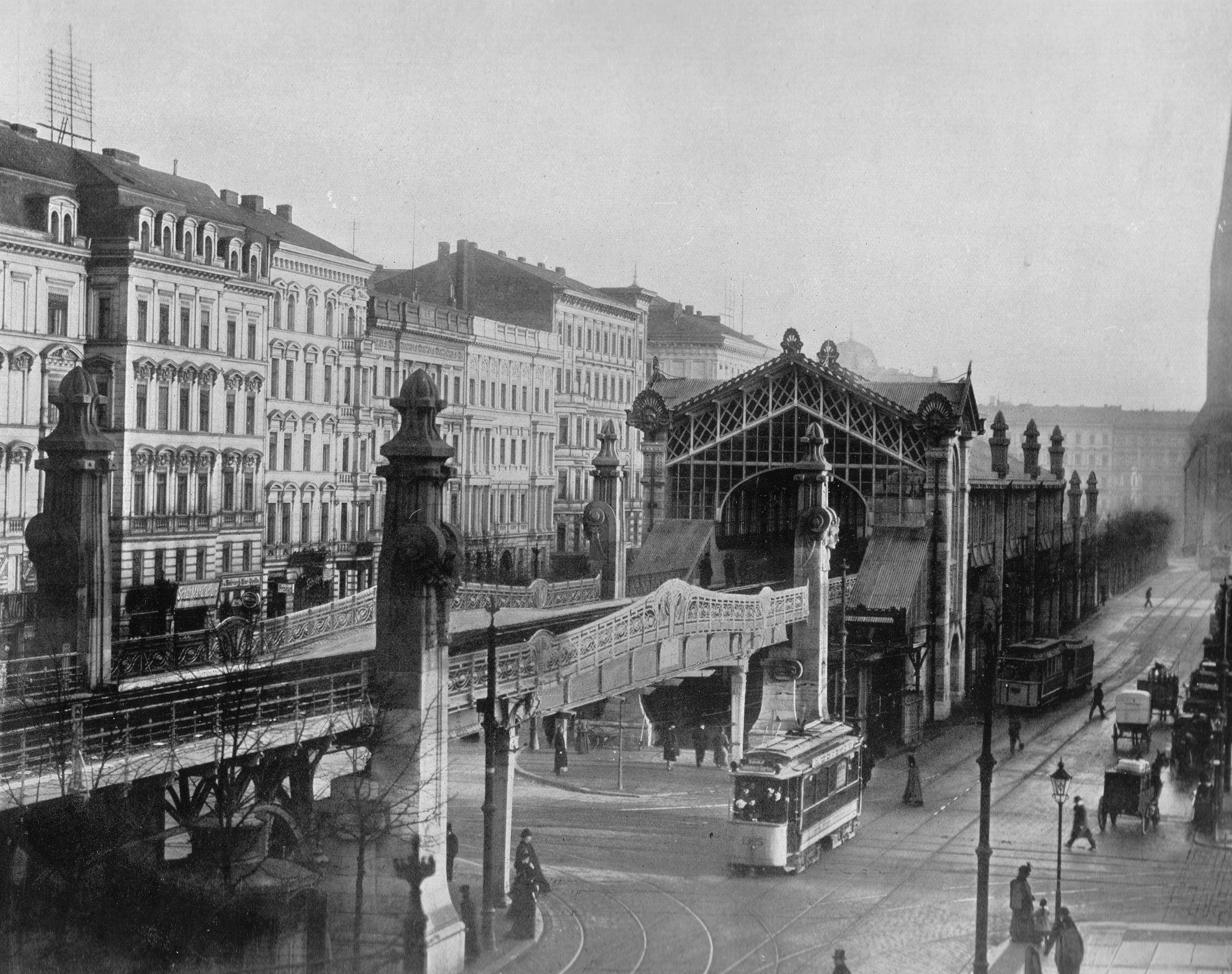 The Elevated Station Bulowstrasse In 1903 Bahn Berlin Berlin Ubahn U Bahn