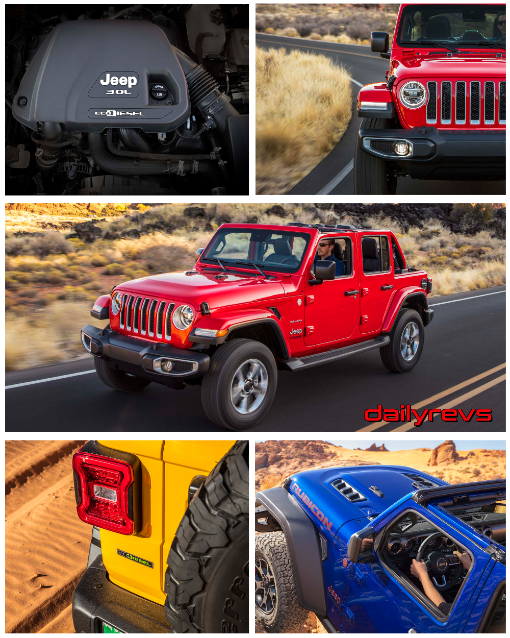 2020 Jeep Wrangler Unlimited Ecodiesel Us Hd Pictures Videos