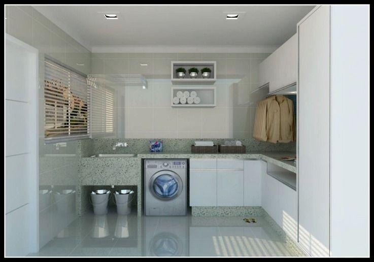 Lavanderia lavanderia pinterest lavander a for Lavaderos pequenos modernos
