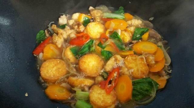 Resep Enak Cara Membuat Sapo Tahu Ayam Jamur Resep Ayam Masakan