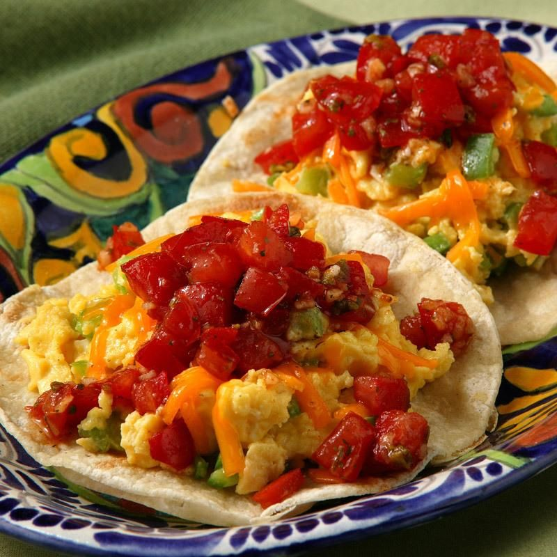 Country Style Scrambled Eggs Recipe: Mexican Breakfast Recipes