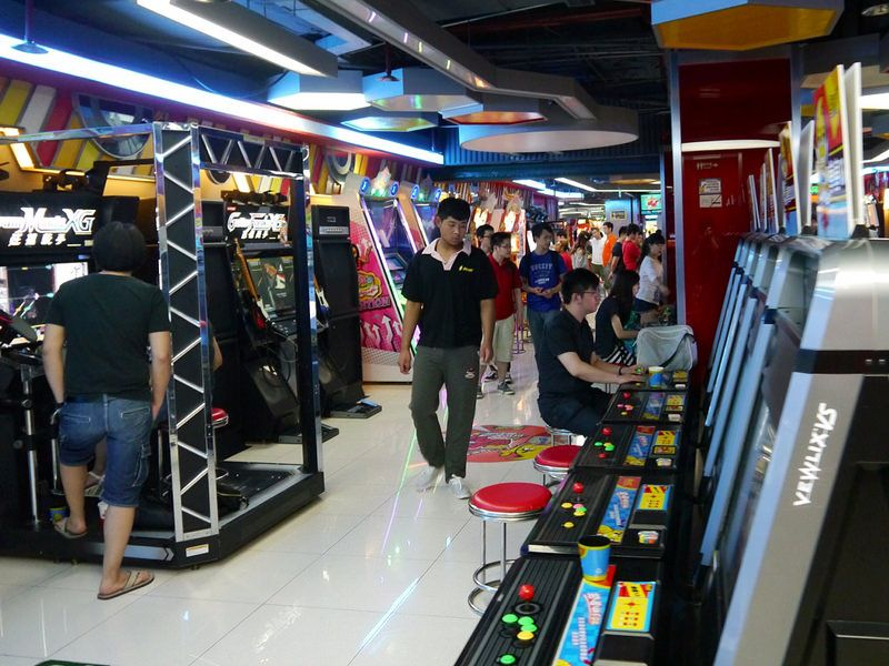 Image result for Feng Yun Zai Qi Game Center in Shanghai