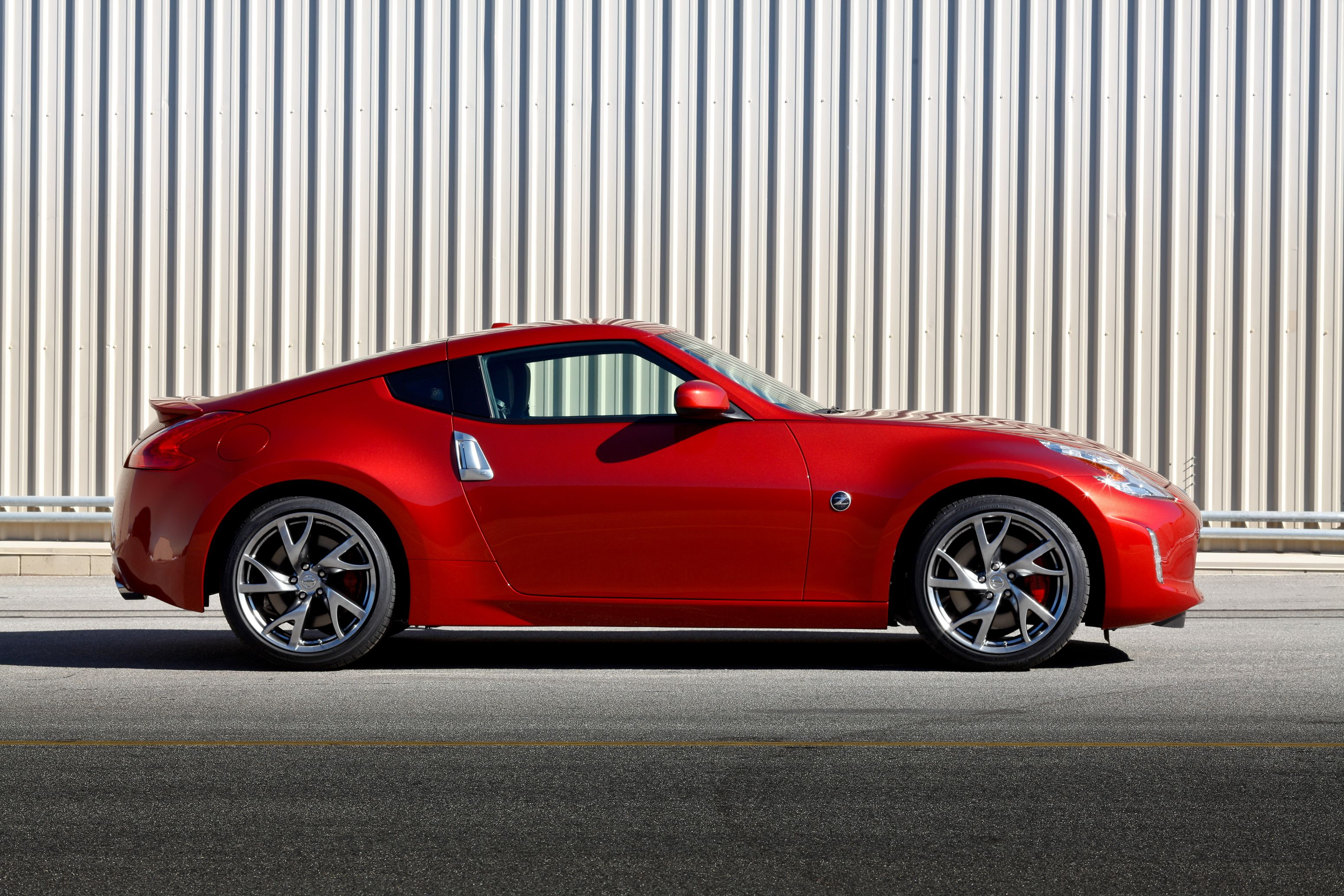The Popular Nissan 370Z Coupe Receives A Fresh New Appearance For 2013    Designed To Keep The Legendary Sports Car Fresh And Exciting   While Still  Offering ...