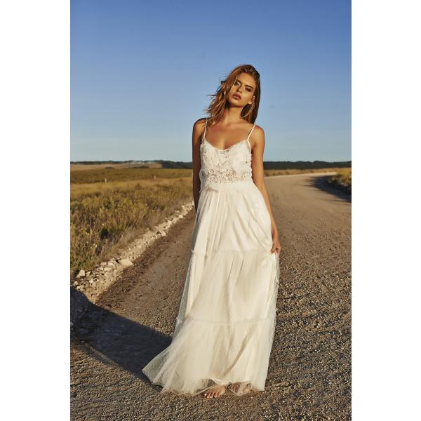 Vestidos hippies para novias boho-chic | HISPABODAS | BODAS ...