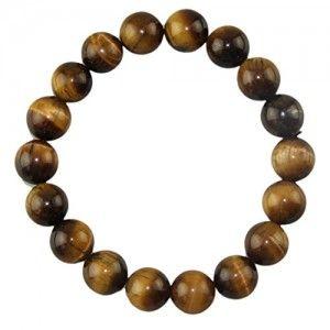 Voberry Hot Sale Tiger Eye Gem Beads Tibetan Buddhist Prayer Mala Bracelet with Free Bag - Spiritual Jewelry