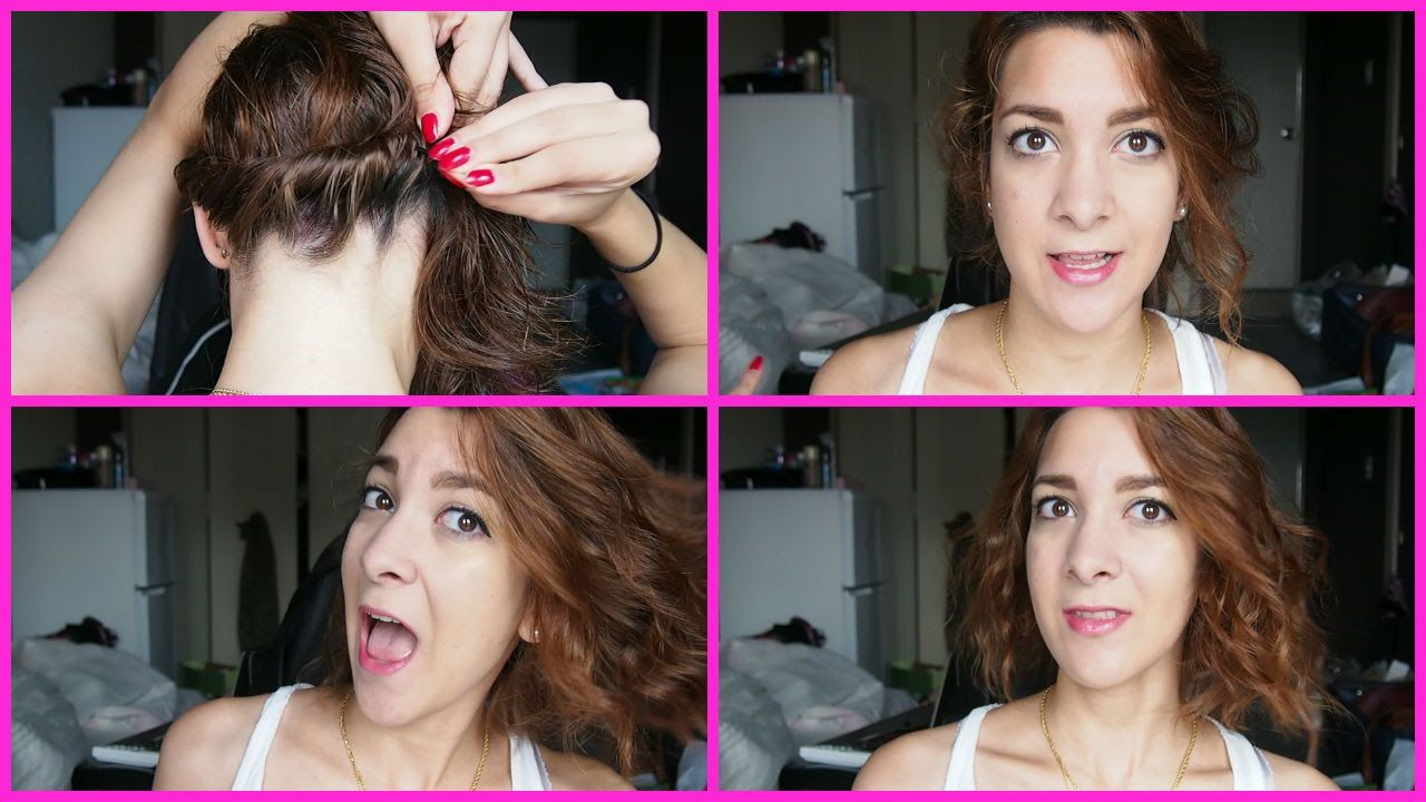Beach Waves How To Curl Shoulder Length Hair Without Heat Hair Without Heat How To Curl Short Hair Beach Waves For Short Hair