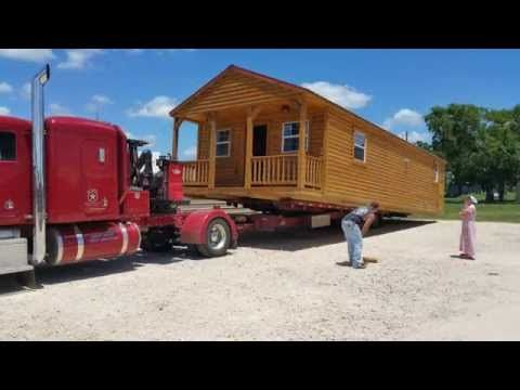 Derksen Portable Cabin Build-Out by Enterprise Center of Giddings, TX - YouTube