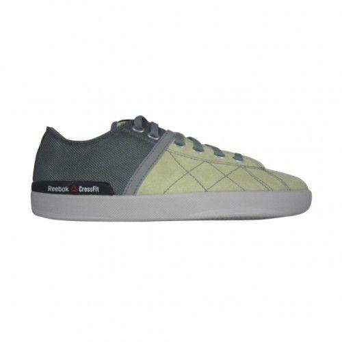 9a79663d06b0ae Reebok Crossfit Lite Lo TR Womens Training Shoe M47705 Citrus  Glow-Green-Grey
