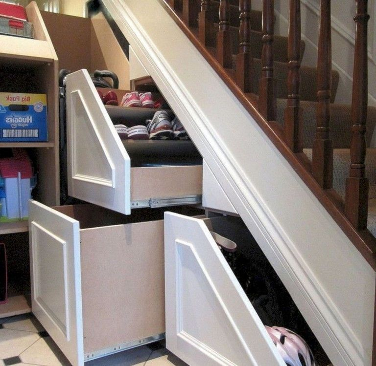 26 Incredible Under The Stairs Utilization Ideas: The Amazing Under Stair Storage Ideas To Maximize The