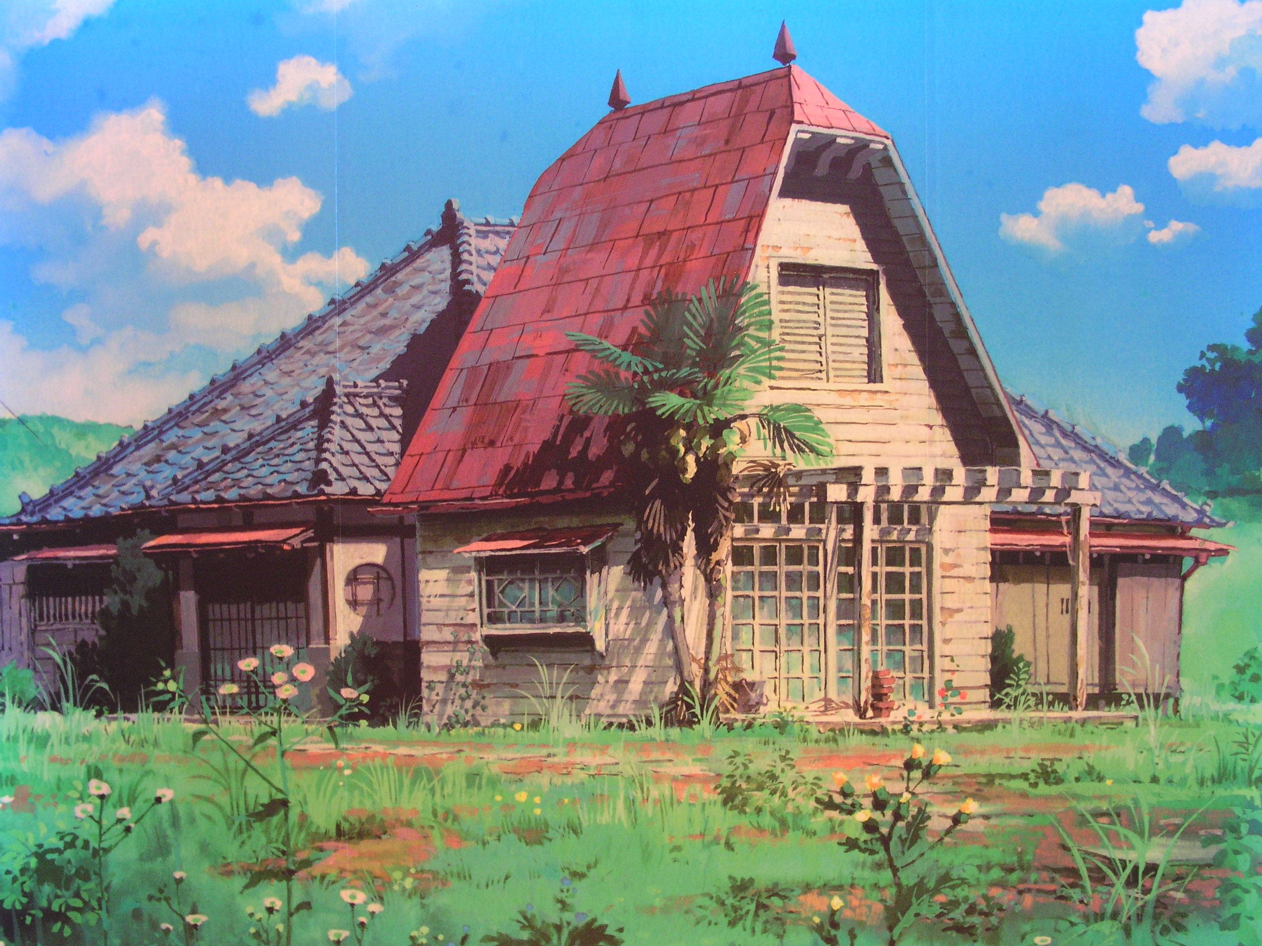 """""""My Neighbor Totoro となりのトトロ"""" by Kazuo Oga Background Art"""