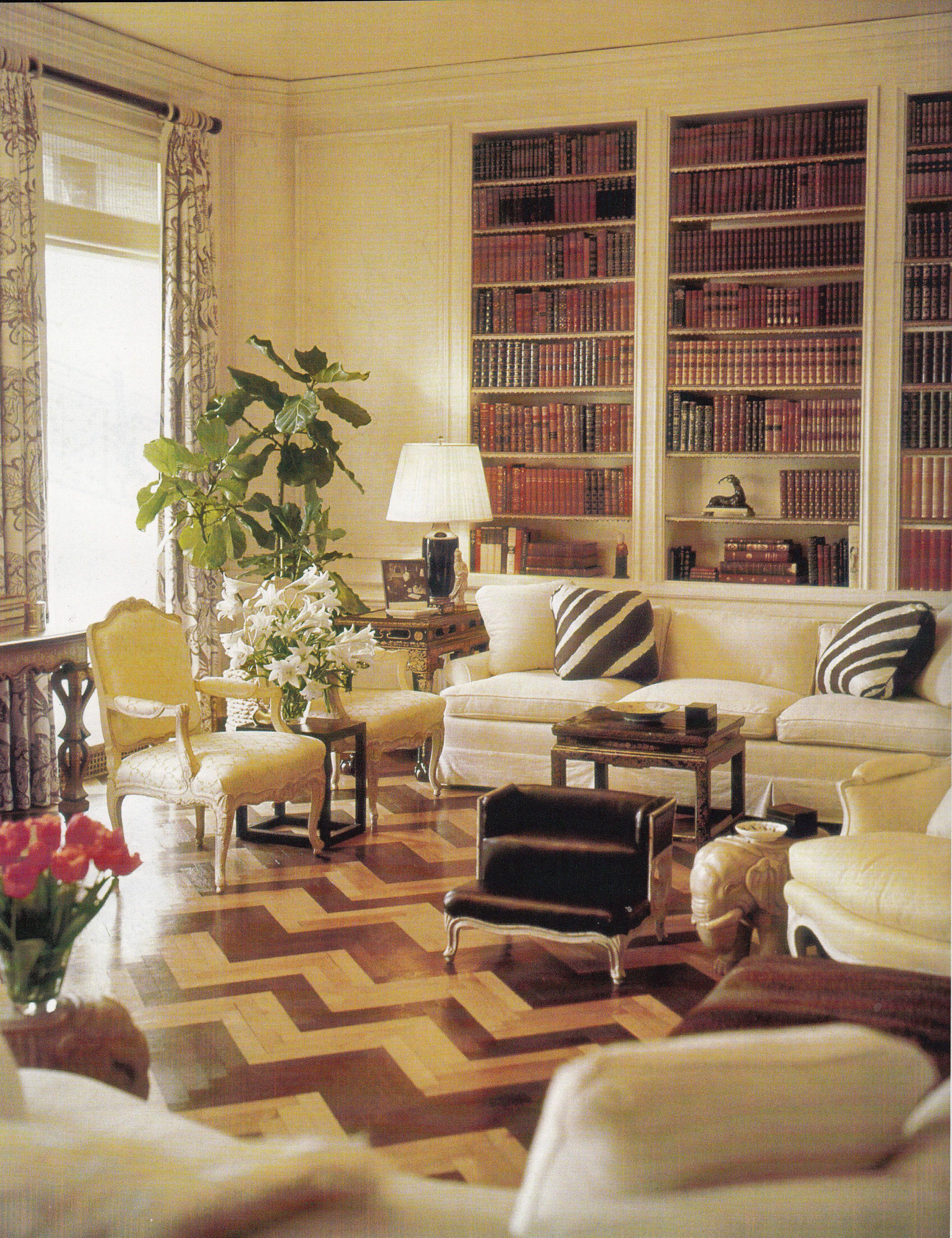 Home interior design drawing room albert hadley  astor sitting room  interior design  pinterest