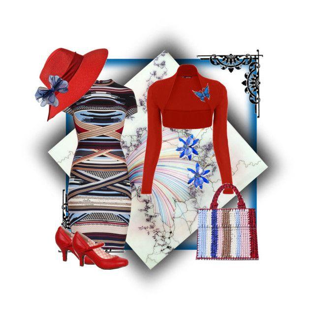 """Mummy's Dress"" by rainheartcreations ❤ liked on Polyvore featuring Kate Spade, Hervé Léger, WearAll and Chicnova Fashion"