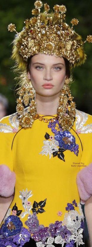 Dolce & Gabbana Alta Moda Fall 2015 Couture ~ ♕♚εїз | BLAIR SPARKLES |