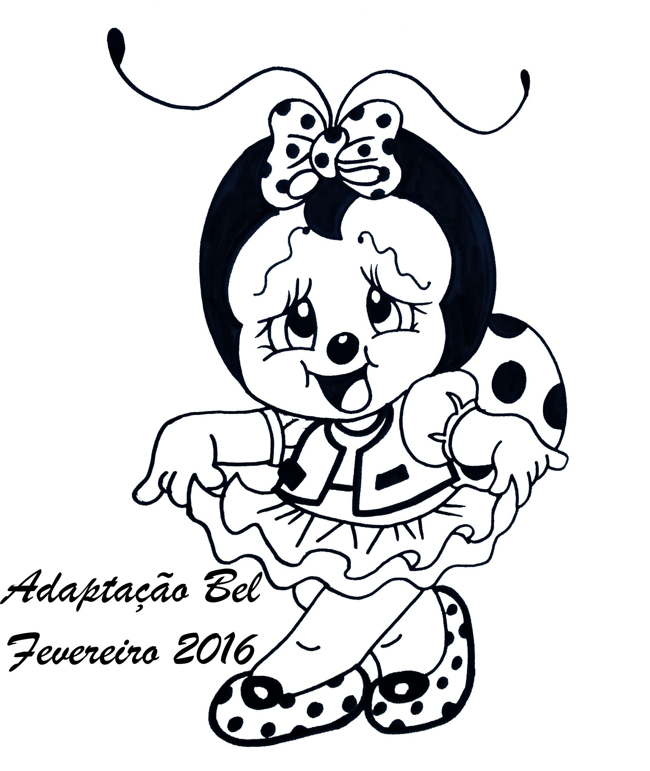 pin by isabel cristina trivelato on desenhos de joaninhas