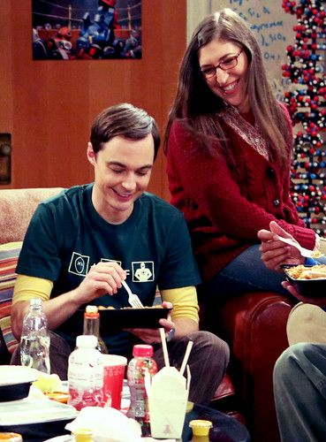 Image result for sheldon and amy