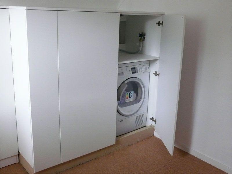 Kast Voor Wasmachine : Kast om wasmachine en aansluitend schoenenkast werkspot