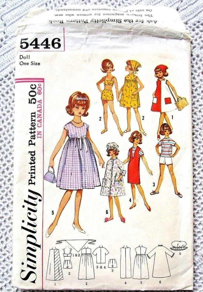 5446 simplicity sewing pattern~uncut 1964~12\