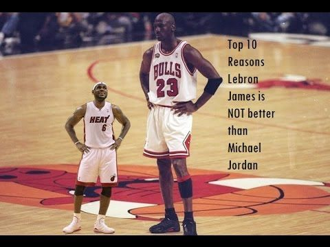 e8c0cfcb8ae Top 10 reasons Lebron James is NOT better than MJ. Michael Jordan - The Best  of the Best HD - YouTube