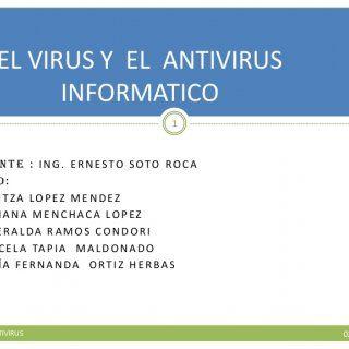 DOCENTE : ING. ERNESTO SOTO ROCA GRUPO:  MARITZA LOPEZ MENDEZ  MARIANA MENCHACA LOPEZ  ESMERALDA RAMOS CONDORI  MARCELA TAPIA MALDONADO  MARÍA FERNAND. http://slidehot.com/resources/nuevo-antivirus-y-virus-informtico-grupo-power-pointmariafernandaortizherbas.53996/