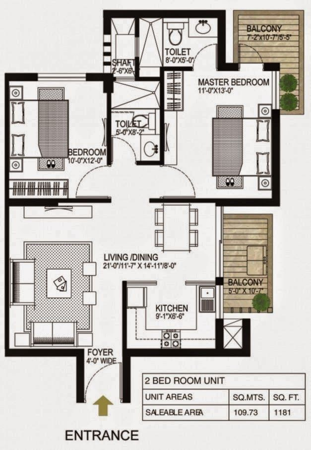 Plans Design Simple House With Two Rooms Home Garden Design House Plans Small House Plans House Floor Plans