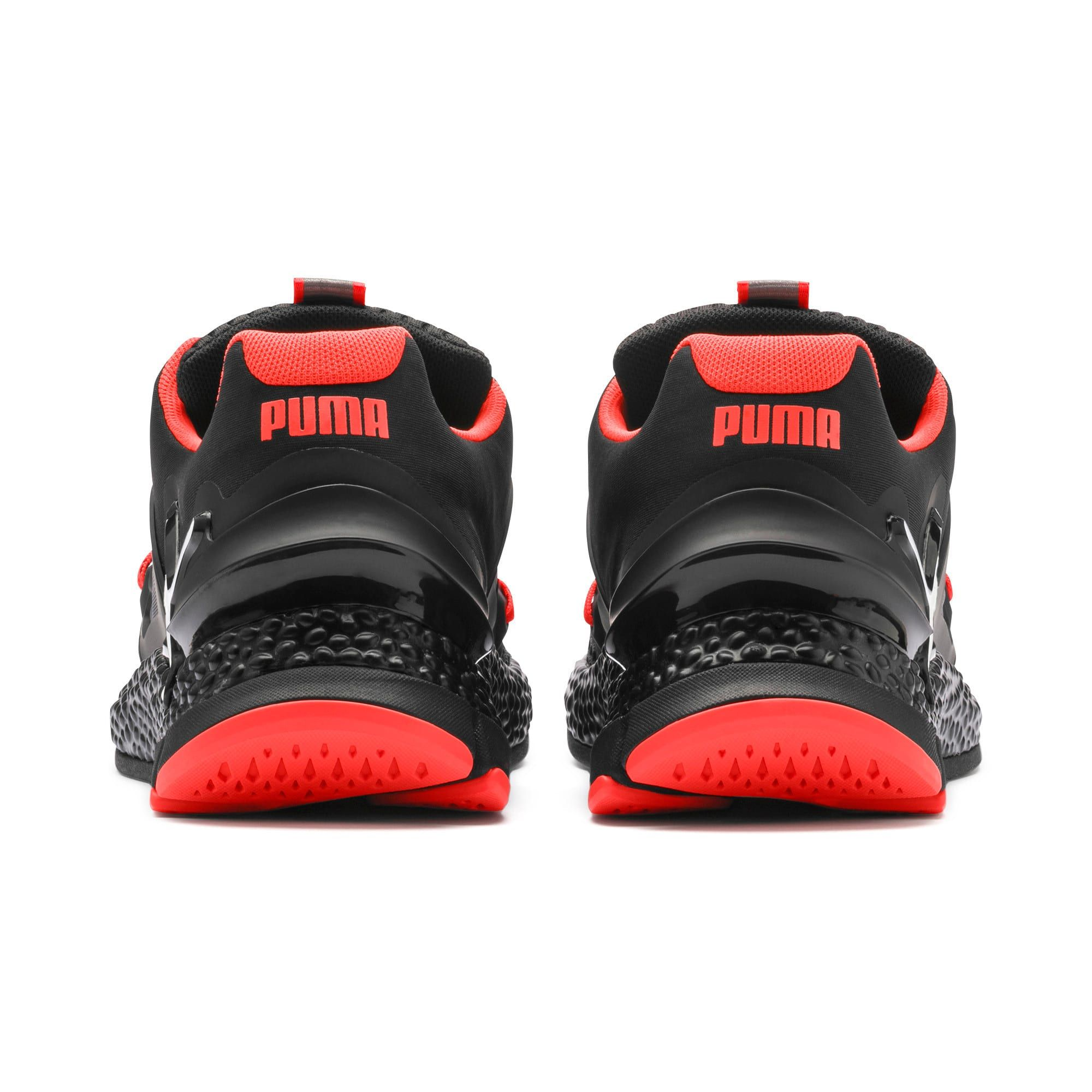 Puma HYBRID RED BLACK Multi Color Running Shoes