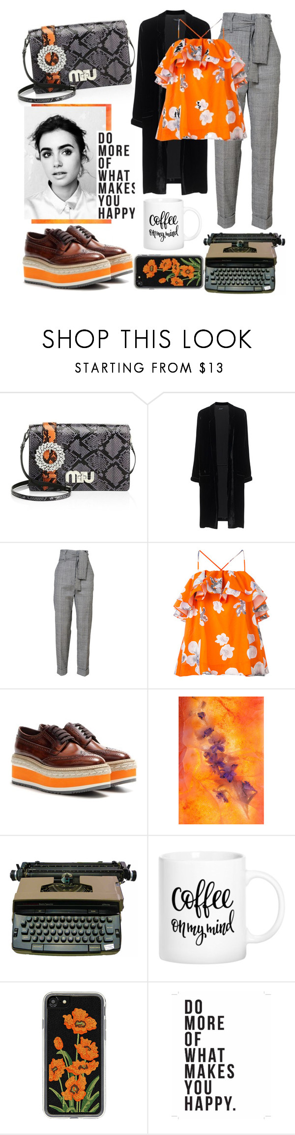 """Do More..."" by eversmile ❤ liked on Polyvore featuring Miu Miu, Jadicted, MSGM, Prada, Primp, Zero Gravity and Native State"