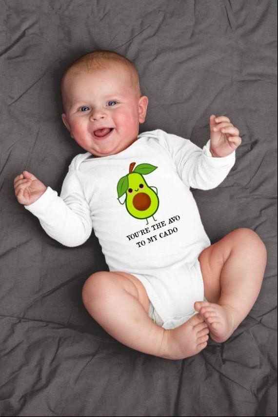 d7dd585e3a591b Avocado Onesie©, Avocado Baby Shirt, Cute Avocado Shirt, Fruit Baby  Clothes, Vegan Baby Gifts, Veget