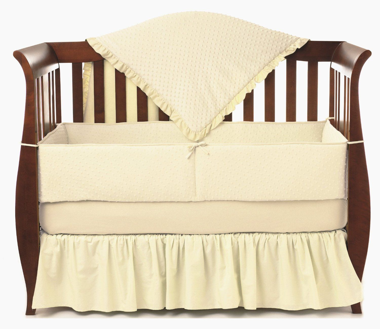 Ecru American Baby Company Crib Starter Set