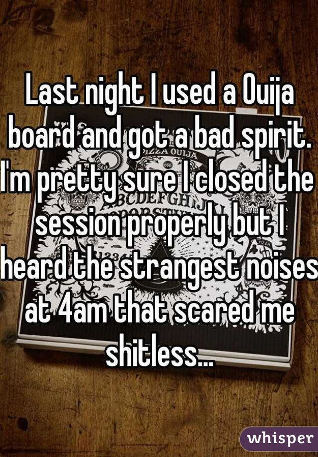 Ouija Board Experience Stories Essays img-1