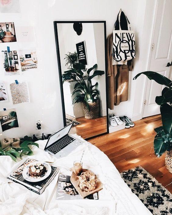 Genieße die kleinen Dinge #bedroominspo