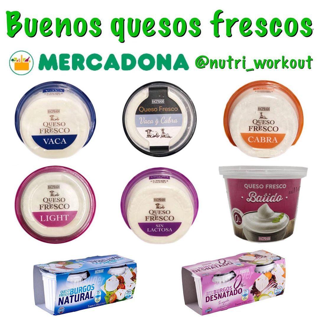 David On Instagram Buenos Quesos Frescos Mercadona