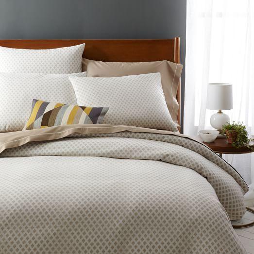 Jacquard Leaf Duvet Cover Shams Duvet Hotel Bedding Sets Duvet Covers