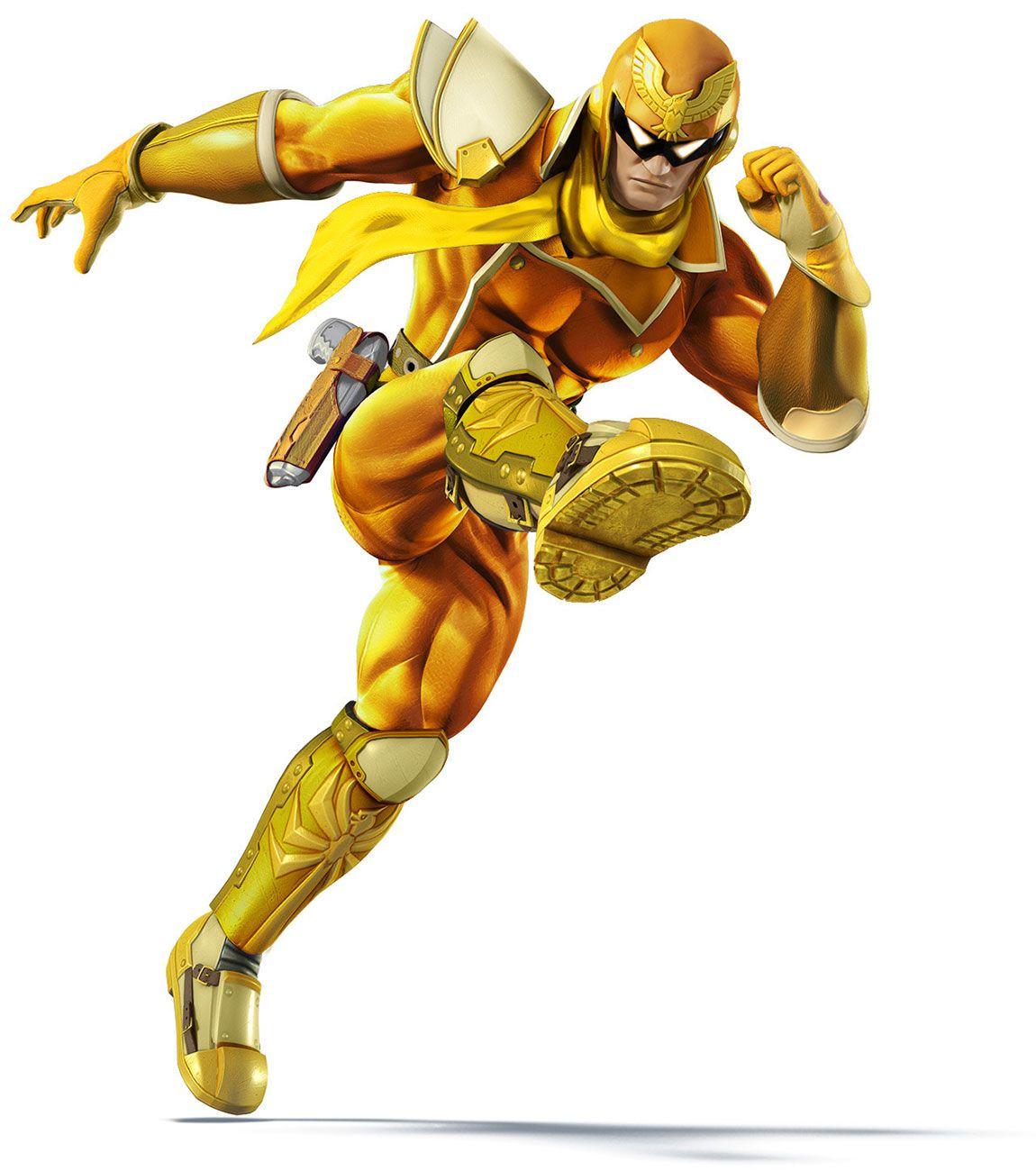 Captain Falcon Color Swap - Super Smash Bros