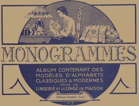 Monogrammes  Tome 2, Album contenant des modèles d\u0027alphabets - Modeles De Maisons Modernes
