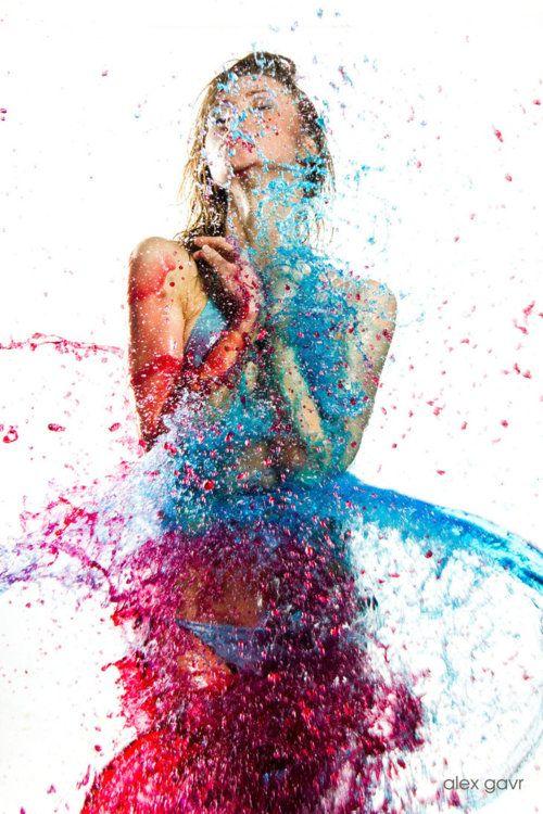 Pin By Lynn Aka Lyndsay Strittholt On Colorful Body Painting Paint Splash Color Splash