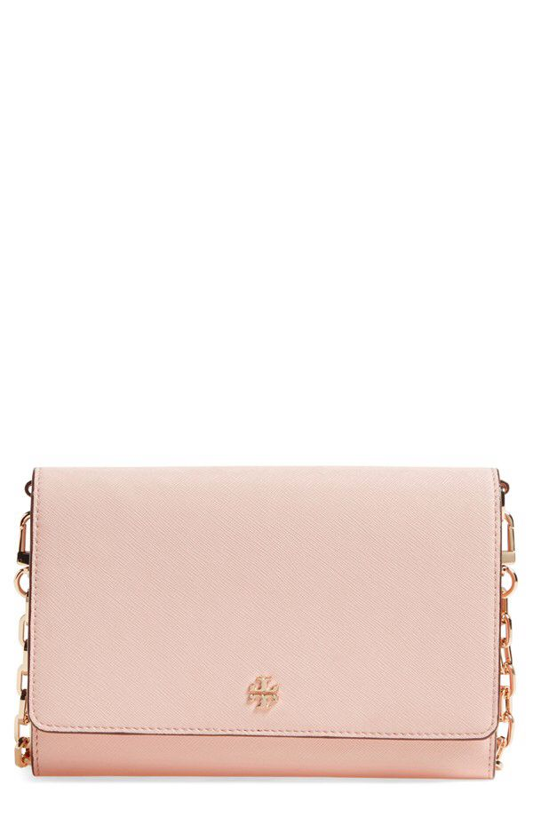 ff0656e7c26 Tory Burch Tory Burch 'Robinson' Leather Wallet on a Chain available at # Nordstrom