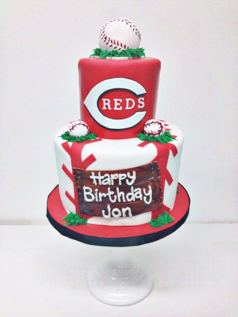 30 Beautiful Photo Of Baseball Birthday Cake Nashville Sweets Reds