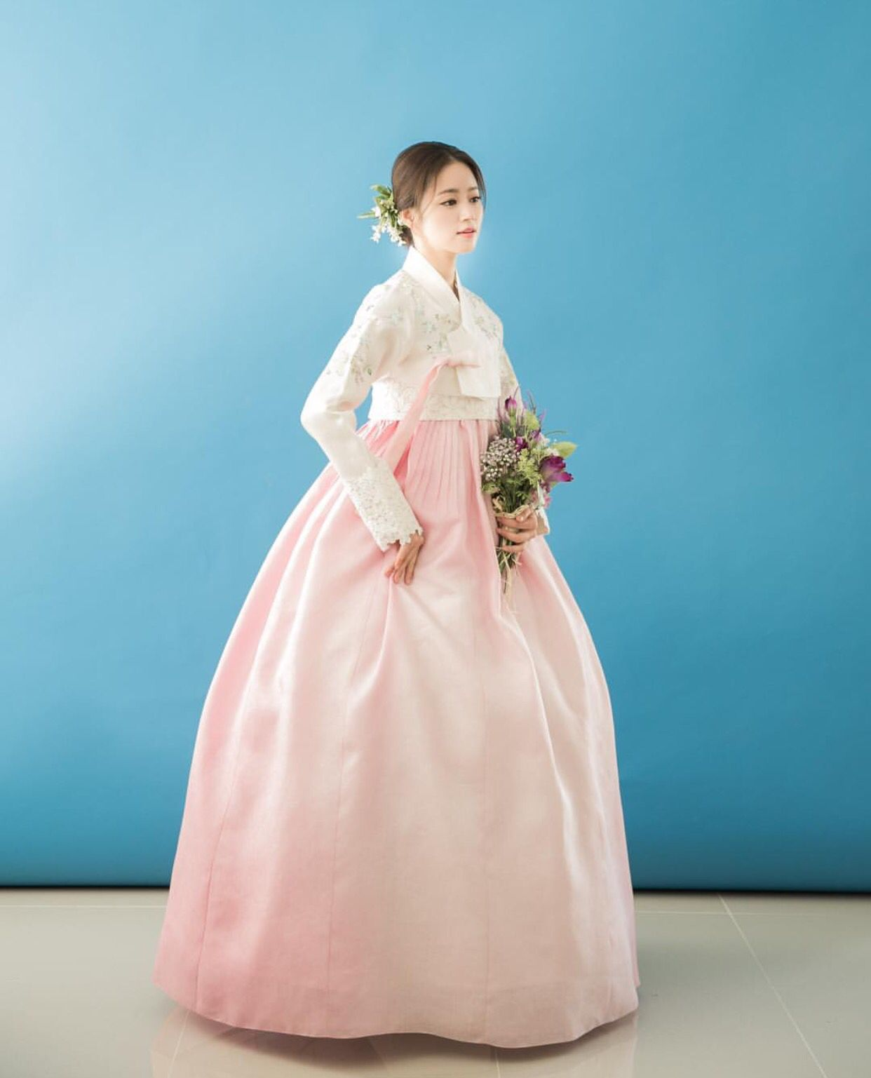 Hanbok korean traditional clothesdress for Hanbok wedding dress