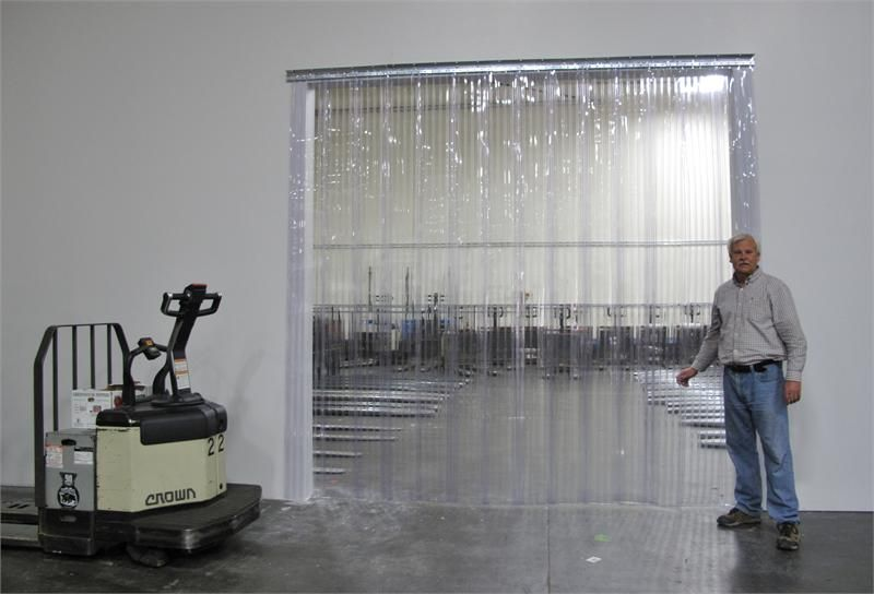 Plastic Strip Curtains For Large Dock Doors Clear Pvc
