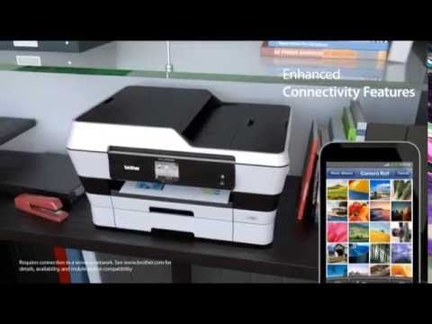 amazing brother mfc j6720dw wireless inkjet color printer with