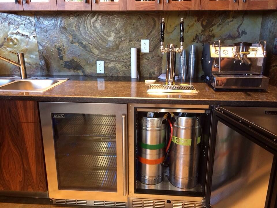 Ordinaire My Kitchen WILL Have This Kitchen Remodel With Built In Kegerator