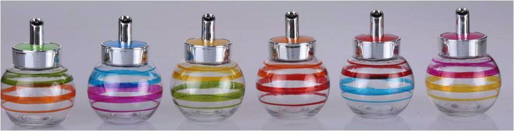 Retro Diner Style Shaker Sugar Dispenser Glass Jar Bottle w ...