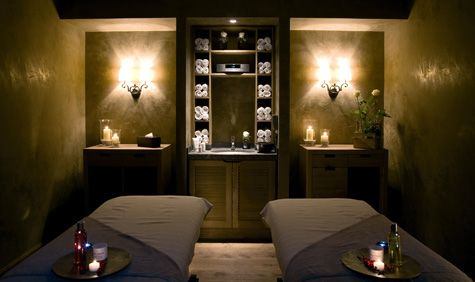 Hammam At The Gstaad Palace Spa With Images Spa Treatment Room Spa Rooms Massage Room Decor