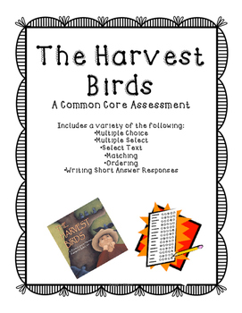 The harvest birds assessment multiple choice and common cores common cores fandeluxe Image collections