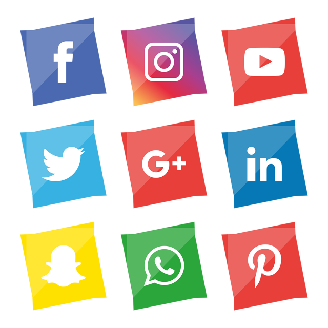 Social Media Icons Set Logo Vector Illustrator Social Icons Logo Icons Media Icons Png And Vector With Transparent Background For Free Download Social Media Icons Twitter Symbols Icon Set Design