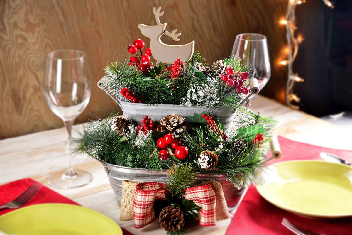 Craftologia Centros De Mesa Navidenos Decoracion Navidad Manualidades Manualidades Navidenas