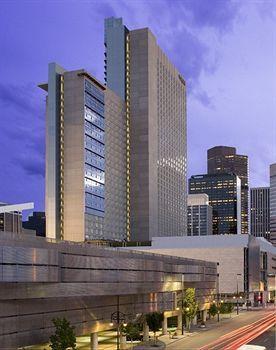 Colorado Convention Center Wavy Parking Garage And Hyatt Tower