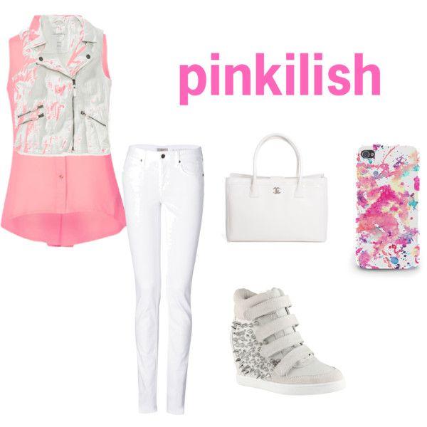 """pinkilish"" by lilsasha on Polyvore"