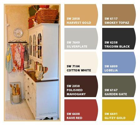photo kitchen by the little red shop paint color ideas. Black Bedroom Furniture Sets. Home Design Ideas