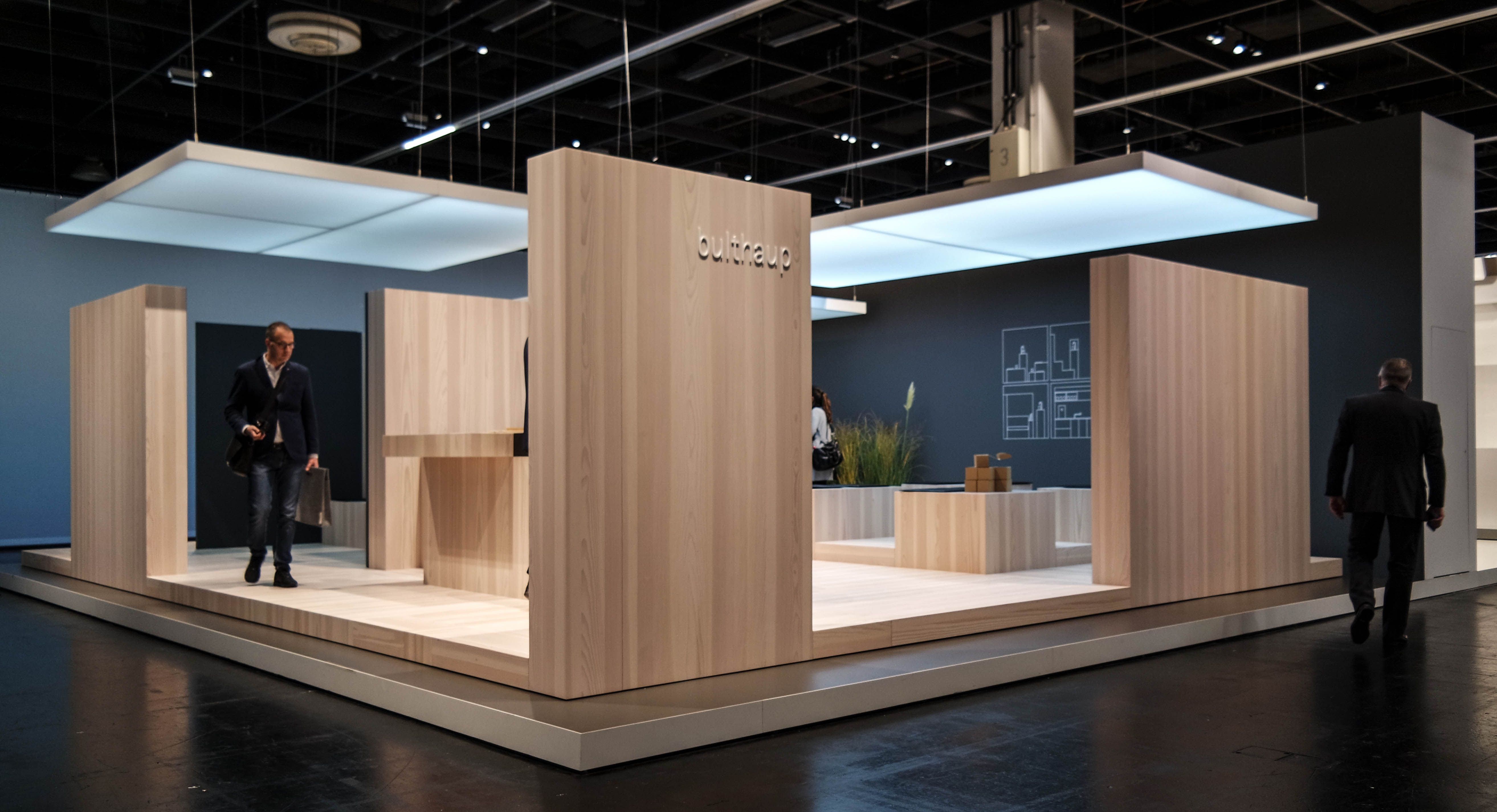 Modern Exhibition Stand Design : Bulthaup at orgatec exhibition pinterest